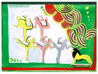 Deco Dancers II