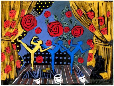 Deco Dancers III