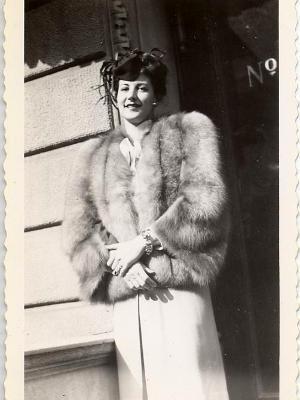 Natalie in 1944